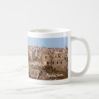The Holy City Of Bethlehem Basic White Mug