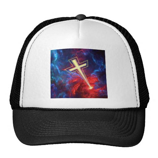 The Holy Cross... out of the Heavens Mesh Hat