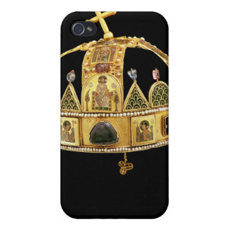 The Holy Crown of Hungary, 11th-12th century Case For iPhone 4