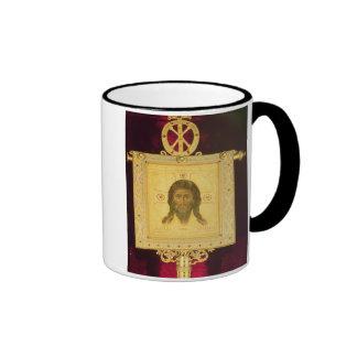 The Holy Face, 1249 (panel) Ringer Mug