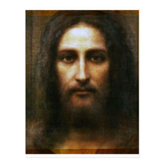 THE HOLY FACE OF JESUS, POSTCARD