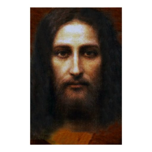 THE HOLY FACE OF JESUS, POSTER