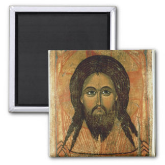 The Holy Face (panel) Square Magnet