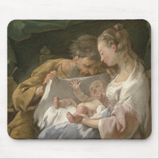 The Holy Family, 18th century Mouse Mat