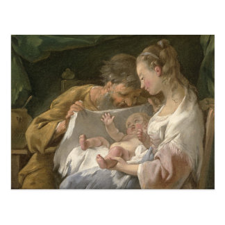 The Holy Family, 18th century Postcard