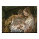 The Holy Family, 18th century Posters