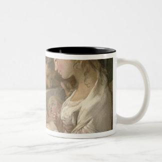 The Holy Family, 18th century Two-Tone Coffee Mug