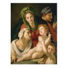 The Holy Family - Agnolo Bronzino Postcard