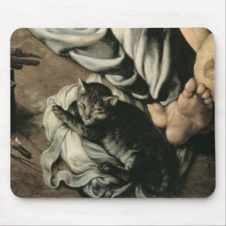 The Holy Family around a Fire, c.1532-33 Mouse Mat