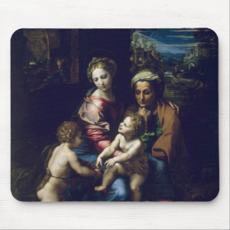 The Holy Family  c.1518 Mouse Mat