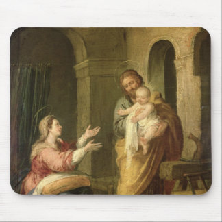 The Holy Family, c.1660-70 Mouse Pad