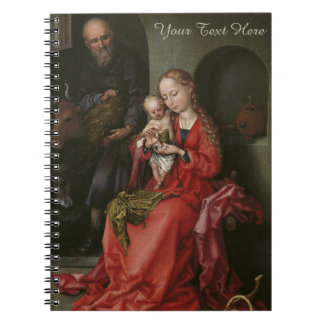 """The Holy Family"" custom notebook"
