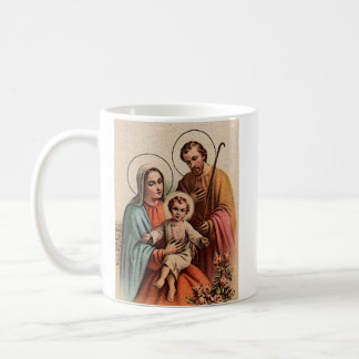 The Holy Family - Jesus, Mary, and Joseph Coffee Mug