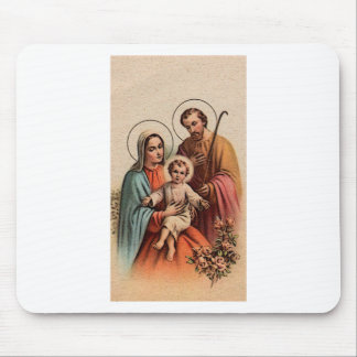 The Holy Family - Jesus, Mary, and Joseph Mousepads