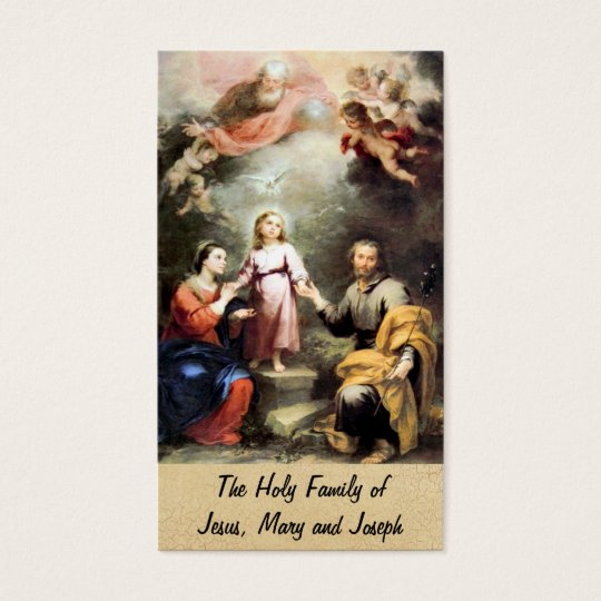 The Holy Family of Jesus, Mary and Joseph