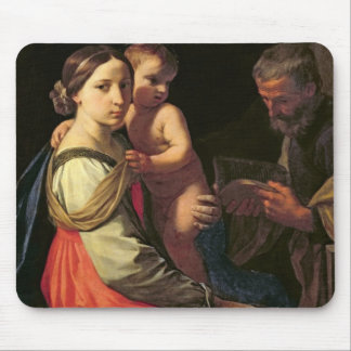 The Holy Family (oil on canvas) 2 Mouse Pad