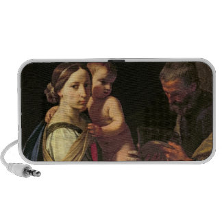 The Holy Family (oil on canvas) 2 PC Speakers