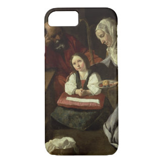 The Holy Family (oil on canvas) (for details see 9 iPhone 8/7 Case