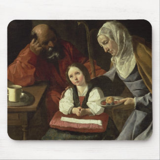 The Holy Family (oil on canvas) (for details see 9 Mouse Pad