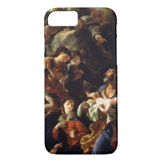 The Holy Family (oil on canvas) iPhone 8/7 Case