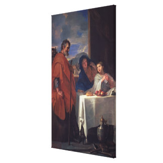 The Holy Family, or The Grace (oil on canvas) Canvas Print