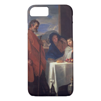 The Holy Family, or The Grace (oil on canvas) iPhone 8/7 Case