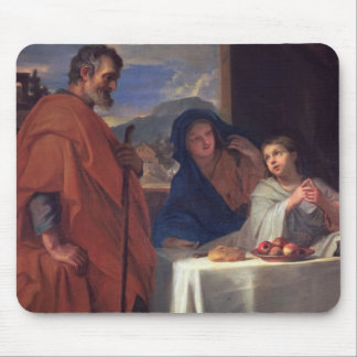 The Holy Family, or The Grace (oil on canvas) Mousepad