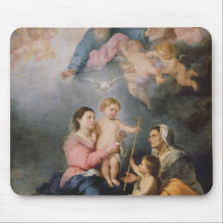 The Holy Family or The Virgin of Seville Mouse Mat