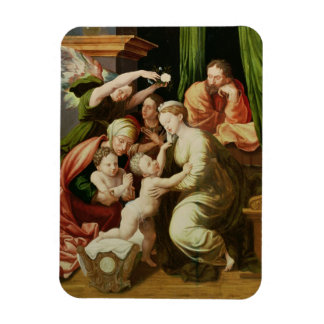 The Holy Family Rectangular Photo Magnet
