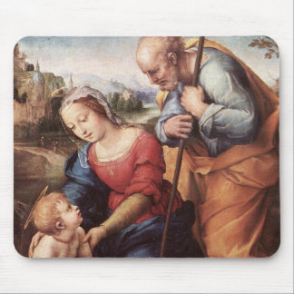 The Holy Family with Lamb Mouse Pad