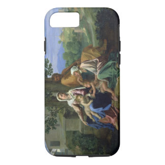 The Holy Family with SS. John, Elizabeth and the I iPhone 8/7 Case