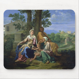 The Holy Family with SS. John, Elizabeth and the I Mouse Pads