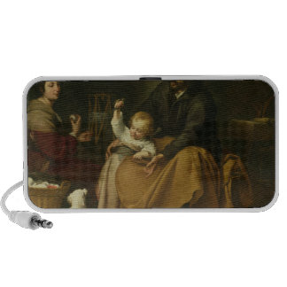 The Holy Family with the Little Bird, c.1650 Mp3 Speakers