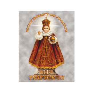 The Holy Infant of Prague Canvas Print