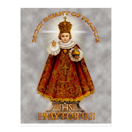The Holy Infant of Prague Postcard