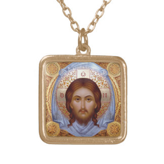THE HOLY MANDYLION -- Icon Necklace