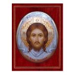 THE HOLY MANDYLION  Prayer Card Postcard