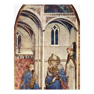 The Holy Meditating By Martini Simone 21.5 Cm X 28 Cm Flyer