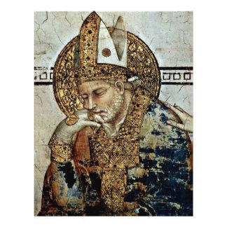 The Holy Meditating Detail By Martini Simone 21.5 Cm X 28 Cm Flyer