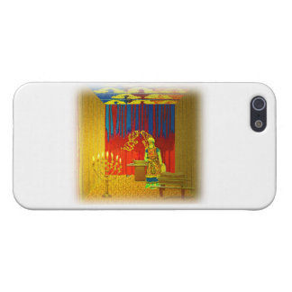 The Holy Place of the Tabernacle with High Priest iPhone 5/5S Cases