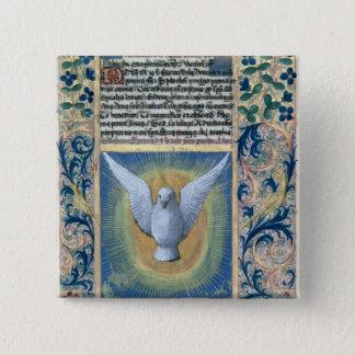 The Holy Spirit 15 Cm Square Badge