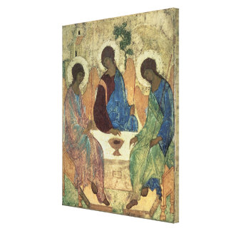 The Holy Trinity, 1420s Canvas Print