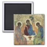 The Holy Trinity, 1420s Square Magnet