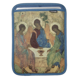 The Holy Trinity, 1420s (tempera on panel) iPad Sleeve