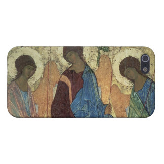 The Holy Trinity, 1420s (tempera on panel) iPhone 5 Covers