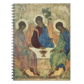 The Holy Trinity, 1420s (tempera on panel) Notebook