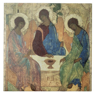 The Holy Trinity, 1420s (tempera on panel) Tile