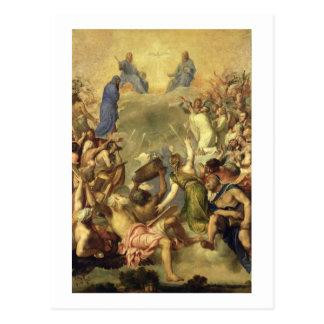 The Holy Trinity, 1553/54 (oil on canvas) Postcard