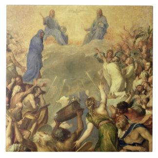 The Holy Trinity, 1553/54 (oil on canvas) Ceramic Tile