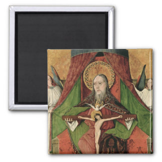 The Holy Trinity from the Mosol Altarpiece Square Magnet